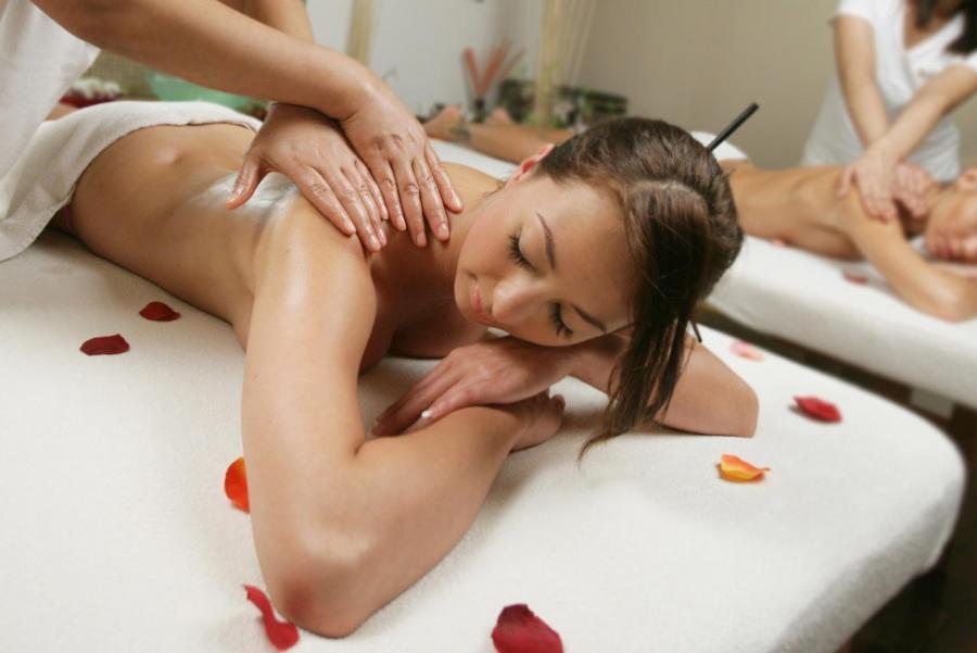 Сексуальный массаж фото онлайн
